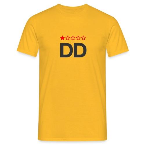 Dårligdommerne simpelt logo - Herre-T-shirt