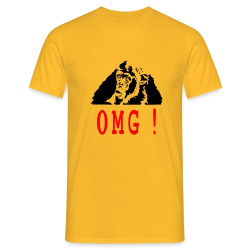 OMG monkey - T-shirt Homme