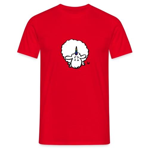 Ewenicorn - it's a rainbow unicorn sheep! - Men's T-Shirt