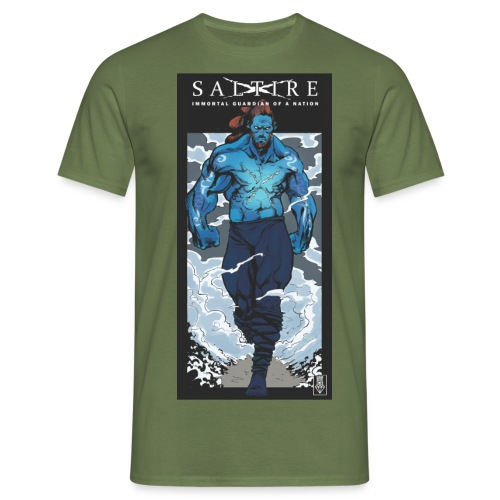 Saltire Annihilation Prev - Men's T-Shirt