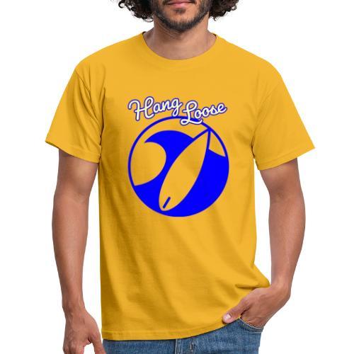 Hangloose Surfer Style Beach Waves Sommer Urlaub - Männer T-Shirt