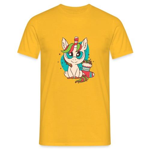 Unicorn Christmas - Männer T-Shirt