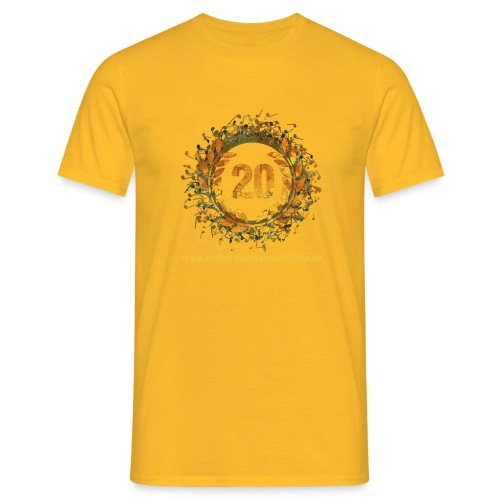 20 farbig freigestellt www png - Männer T-Shirt
