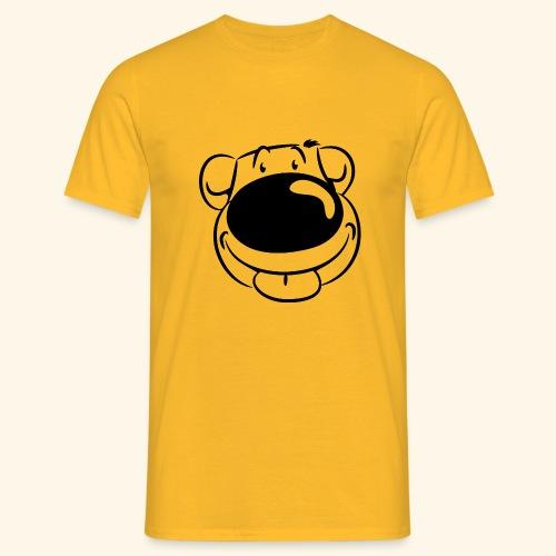 Bär macht Ätsch - Männer T-Shirt