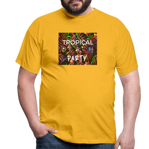 Tropical Beach Party - Männer T-Shirt
