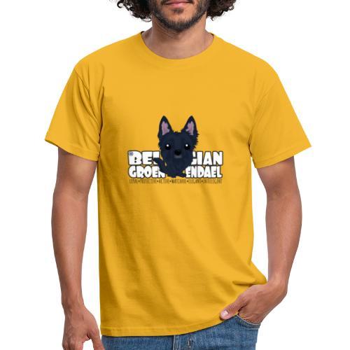 Belgian Groenendael - DGBighead - Men's T-Shirt