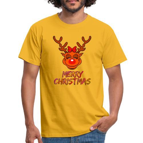 Rudolph weiblich - Männer T-Shirt