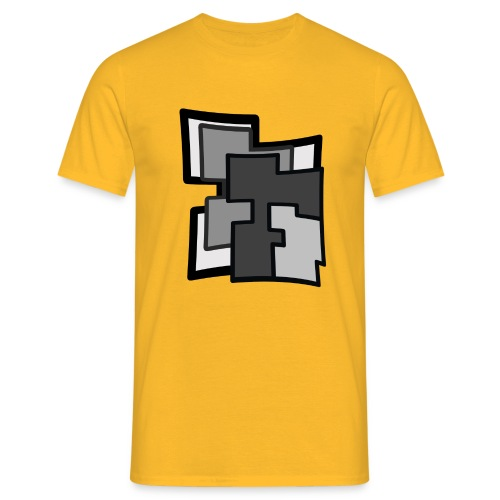 Abstraction - Camiseta hombre