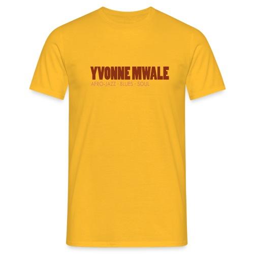 Logo_YvonneMwale_large - Männer T-Shirt