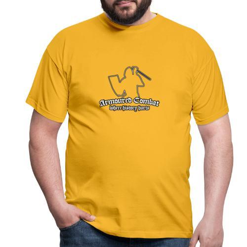 Where History Hurts - Schwertkampf - Männer T-Shirt