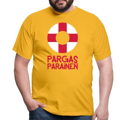 Livboj: Pargas (röd text) - Miesten t-paita