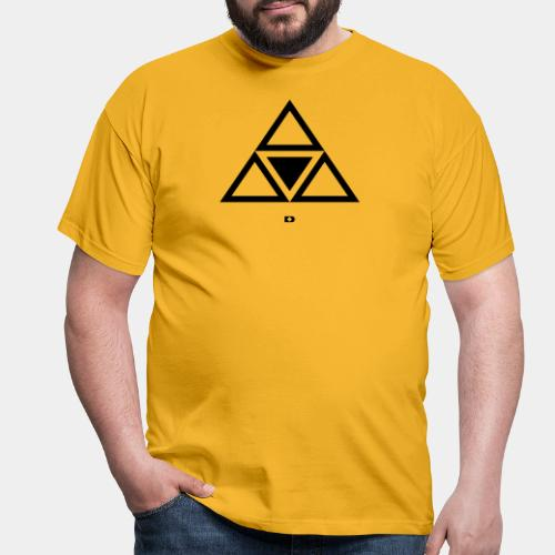A-119 Super triangle - Männer T-Shirt