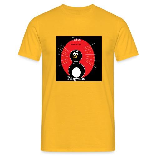 Jestę Pingwię - Koszulka męska