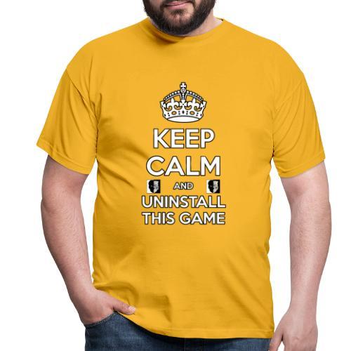 Keep Calm - Maglietta da uomo