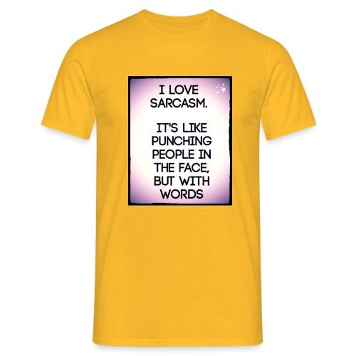 SARCASM - Mannen T-shirt