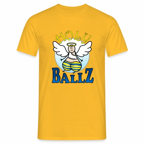 Holy Ballz Charlie - Men's T-Shirt