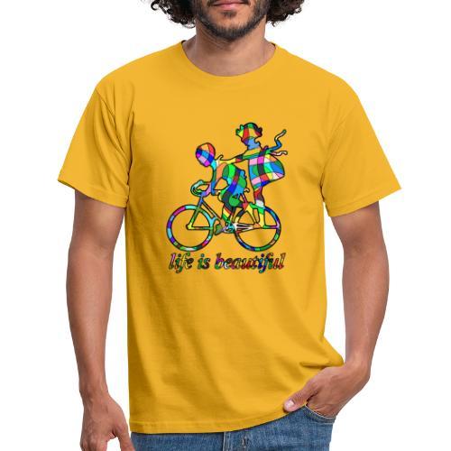 Life is beautiful - Männer T-Shirt