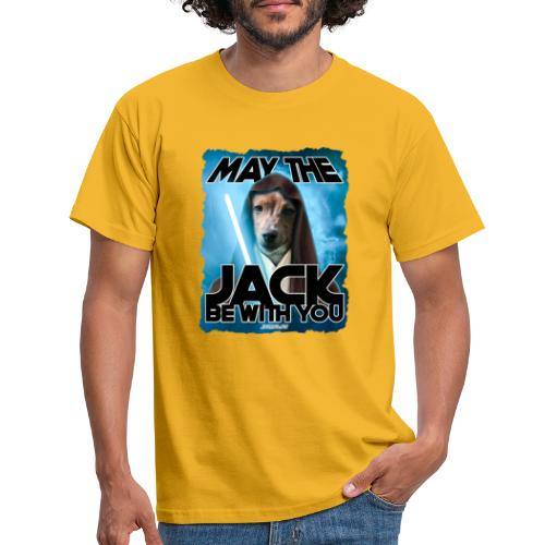 May the Jack be with you - Mannen T-shirt
