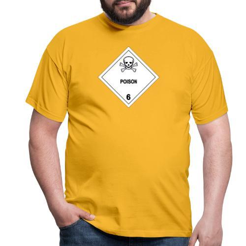 Poison Skull - Men's T-Shirt