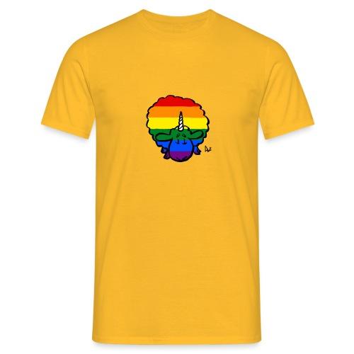 Regenbogen Ewenicorn - es ist ein Einhornschaf! - Männer T-Shirt
