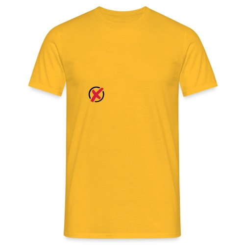Wahl Option ankreuzen 2c - Männer T-Shirt