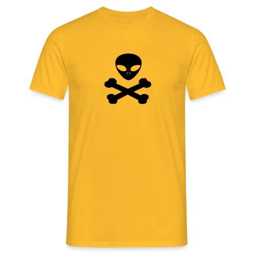 pirata alienígena - Camiseta hombre