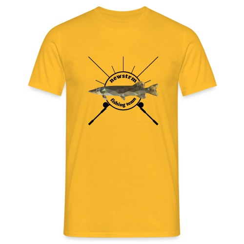 Newstrm fishing team - Standard Logo - T-shirt herr