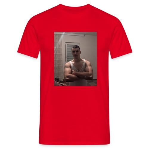 Bodybuilding muscle guy - Männer T-Shirt