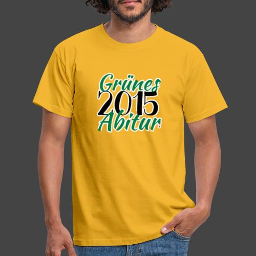 Grünes Abitur 2015 - Waidmannsheil von Jägershirts - Männer T-Shirt