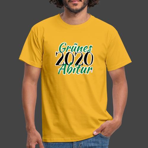 Jägershirt zum Jagdschein - Grünes Abitur 2020 - Männer T-Shirt