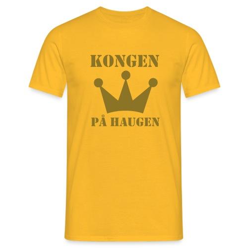 Kongen på haugen - T-skjorte for menn