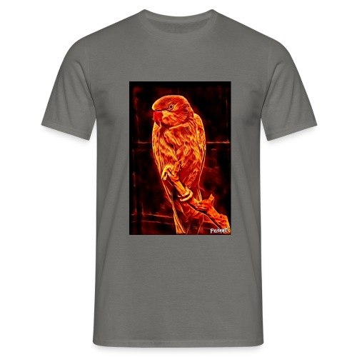 Bird in flames - Miesten t-paita