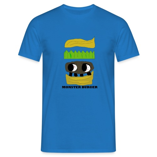 MONSTER BURGER - Männer T-Shirt