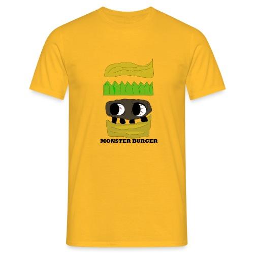 MONSTER BURGER - Männer T-Shirt