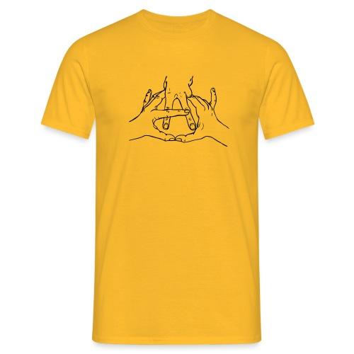 anarchy hands - Camiseta hombre