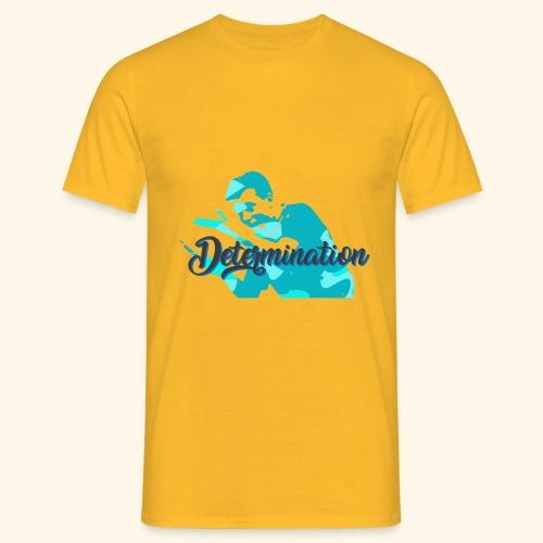 Determination to win the Championship - Männer T-Shirt
