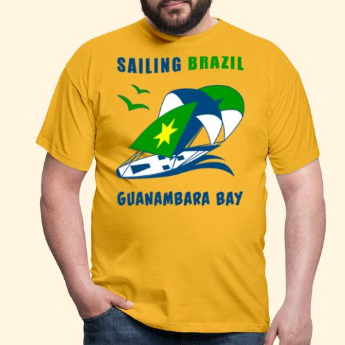 Sailing Brazil - Men's T-Shirt
