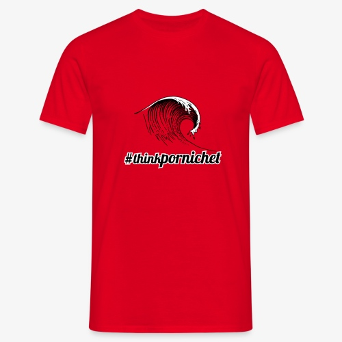 Vague Wave Thinkpornichet by DesignTouch - T-shirt Homme
