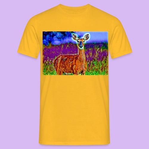 Cerbiatto con magici effetti - Maglietta da uomo