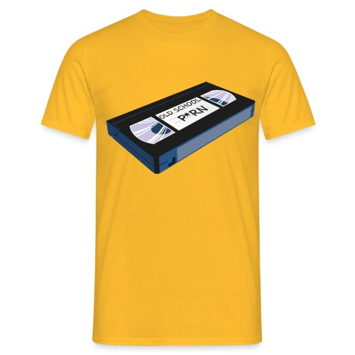 OLD SCHOOL P * RN vhs - T-shirt Homme