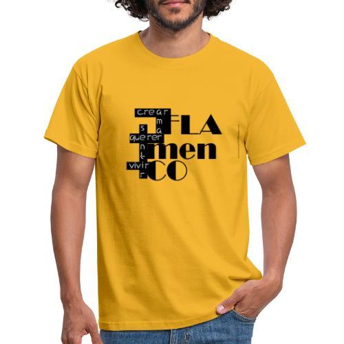 Crucigrama Flamenco - Camiseta hombre