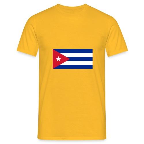 cuba flag 900 png - Maglietta da uomo
