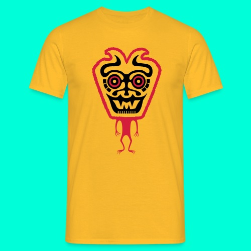 Tribal alien - T-shirt herr