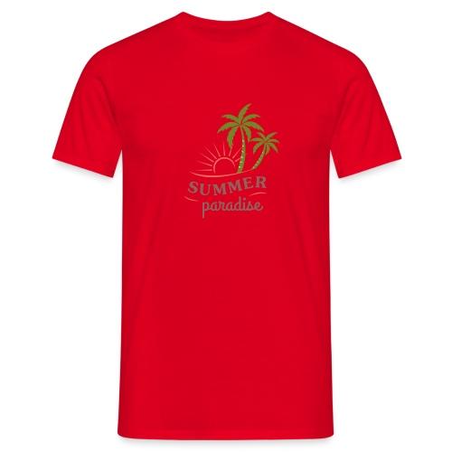 Summer paradise - Men's T-Shirt