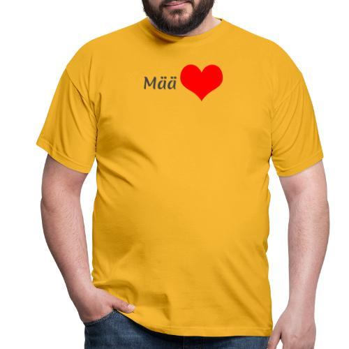 Mää sydän - Miesten t-paita