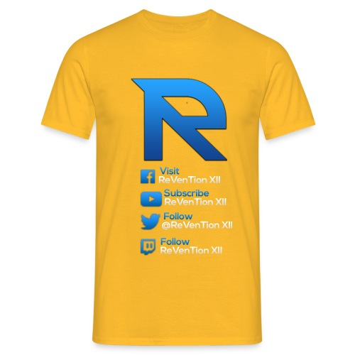RLOGOBLUEREVAMP png - Men's T-Shirt