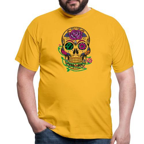 calavera 1 - Camiseta hombre