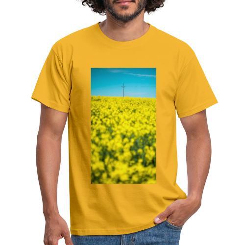 Rapsfeld - Männer T-Shirt