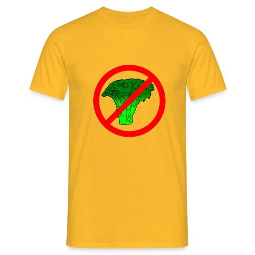 no broccoli allowed - Men's T-Shirt