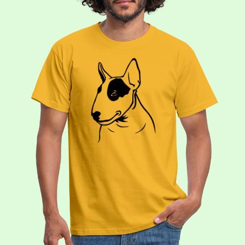 Tête de Bull Terrier - T-shirt Homme